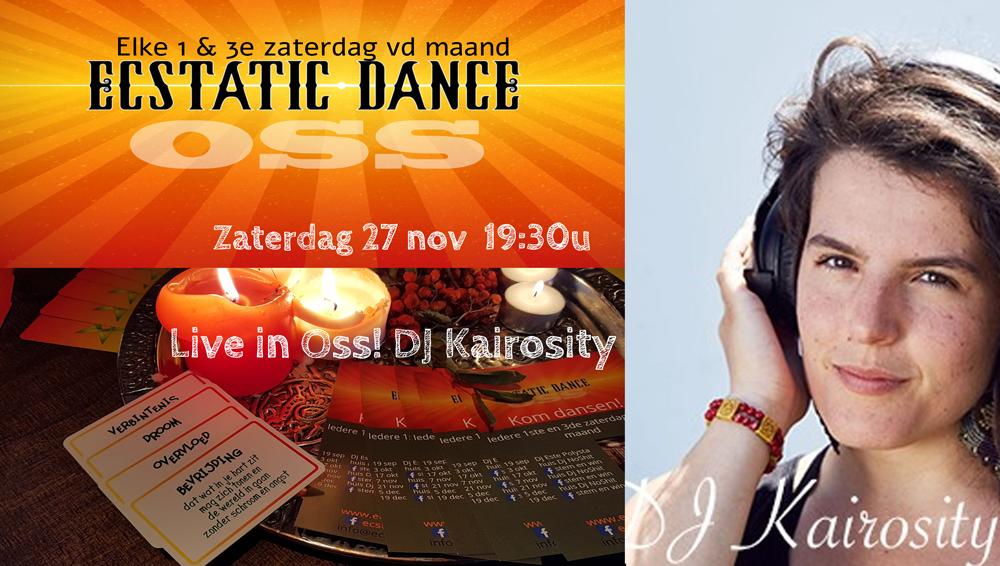 Ecstatic Dance Avond met DJ Kairosity