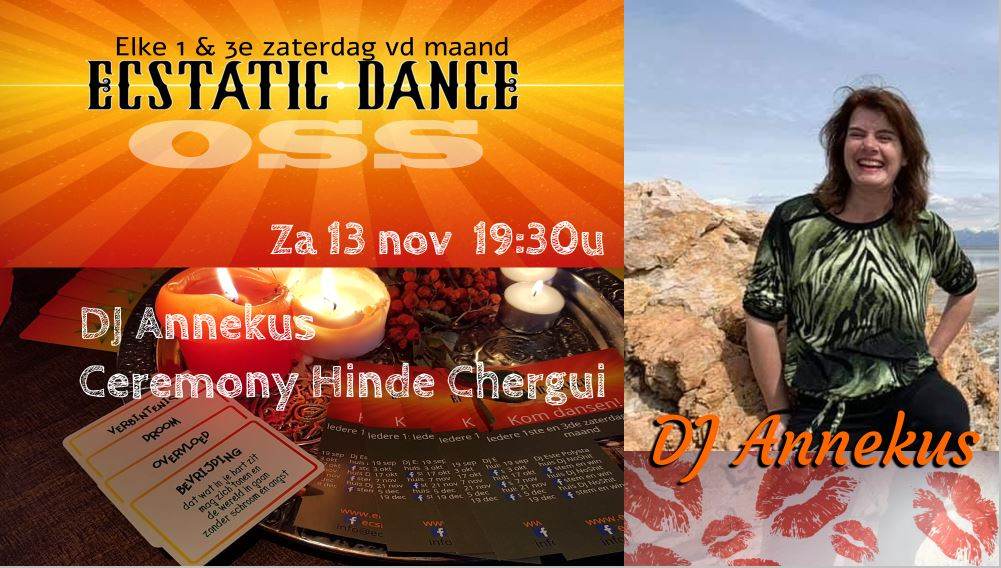 Ecstatic Dance Avond met DJ Annekus